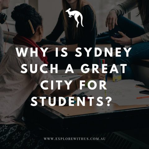 Why is Sydney such a great city for students?