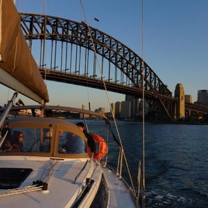 Sailing tour of Sydney Harbour